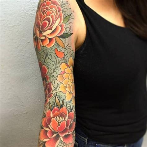 Arm Blumen by Bunte Blumen Arm Frau Tattoovorlage