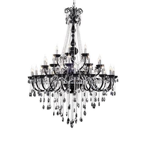 kronleuchter kristall schwarz kronleuchter kristall schwarz 35 flg 216 135cm wohnlicht