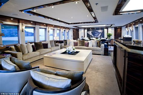 Kalibre Cruiser inside the superyachts at the monaco yacht show where