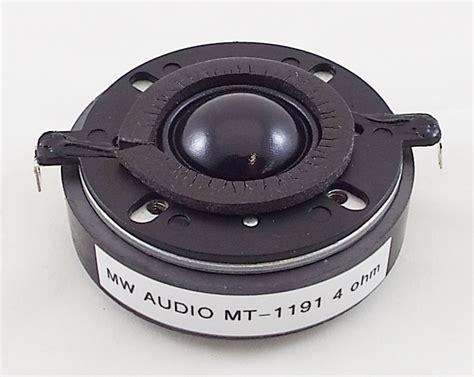 20000 Mega Watts Of Snow Speakers by Dome Midwest Speaker Repair