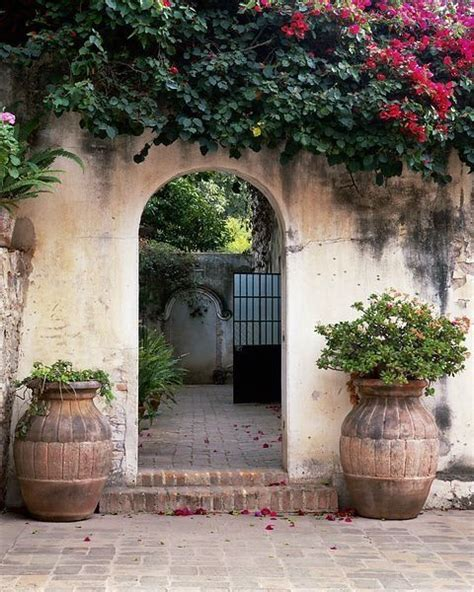 spanish style courtyards hacienda style courtyard designs pinterest
