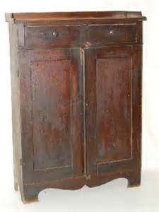121a great antique 2 door country jelly cupboard lot 121a