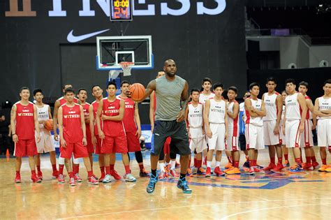 lebron james visits philippines for first time on nike