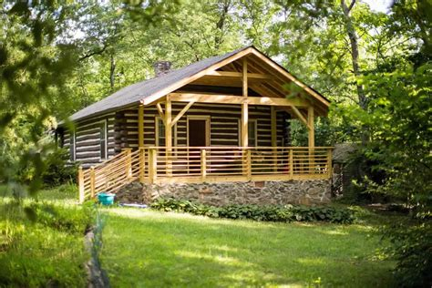 Small Home Builders Asheville Classic Log Cabin Near Downtown Asheville