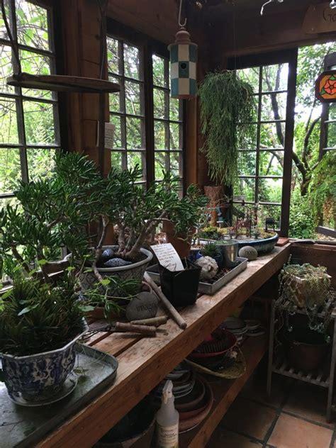 gorgeous garden rustic potting shed  garden tool