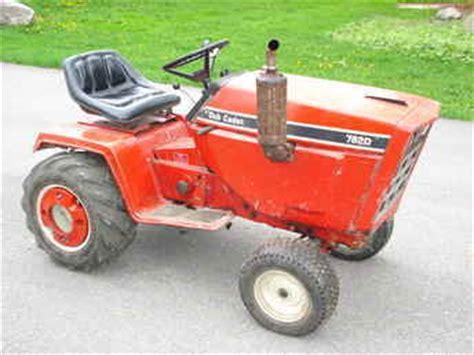 Used Farm Tractors For Sale Cub Cadet 782d Kubota Diesel