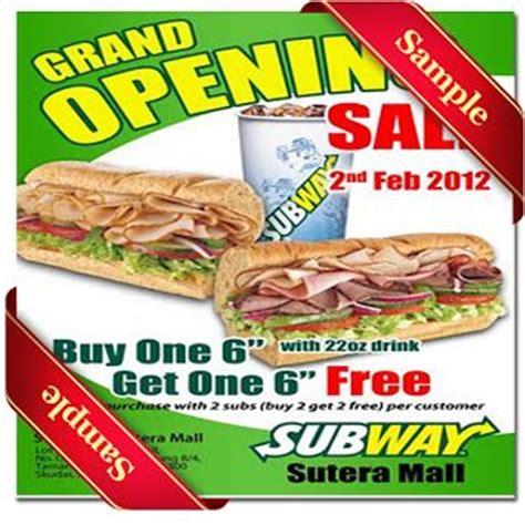 printable subway coupons 2012 17 parasta ideaa printable subway coupons pinterestiss 228