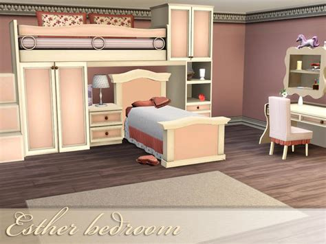 sims 3 bedroom sets spacesims esther bedroom