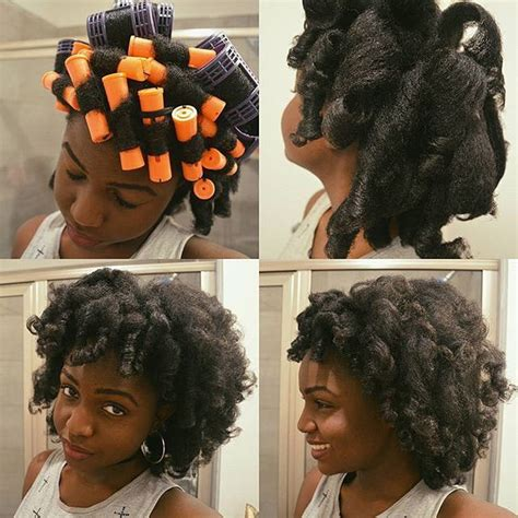 my roller set natural hair journey chic and frugal mommy 1000 images about natural hair roller set on pinterest