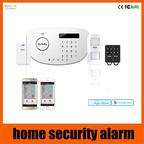 ssg new product gsm pstn home alarm security system home