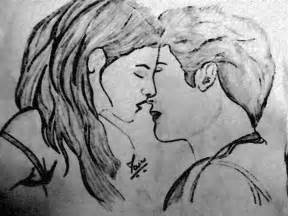 hd romantic couple pencil sketch simple wallpapers