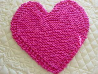 heart shaped dishcloth pattern dishcloth knit patterns and heart on pinterest
