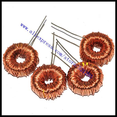 winding 100uh inductor new toroid inductor 100uh toroidal inductor winding inductance lm2596 6a jpg