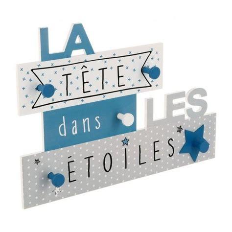 Patere Enfant 61 by Pat 232 Re Quot T 234 Te Dans Les 233 Toiles Quot Bleu D 233 Co Textile Et