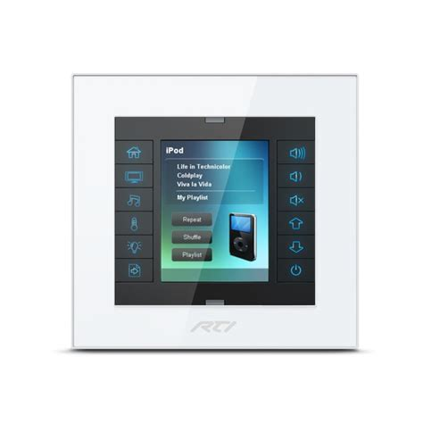 High Cabinet Kitchen kx2 2 8 inch in wall touchpanel keypad home automation