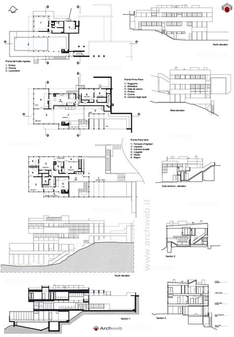richard neutra house plans richard neutra and site plans on pinterest
