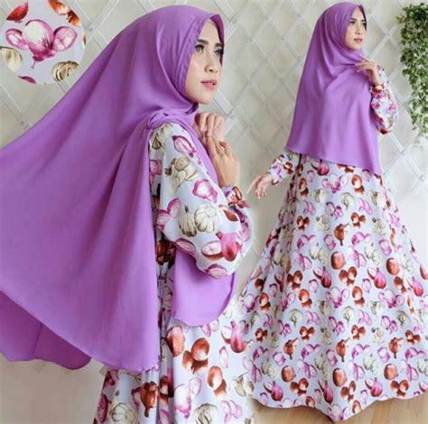 Gamis Monalisa syar i bahan monalisa baju gamis muslim murah sale