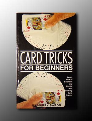 card for beginners card tricks for beginners by baron 9 95