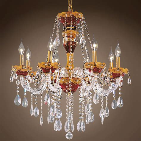 Bohemian Chandeliers Joshua Marshal 701271 Bohemian Design 8 Light 26 Quot Chandelier From Bohemian Collection
