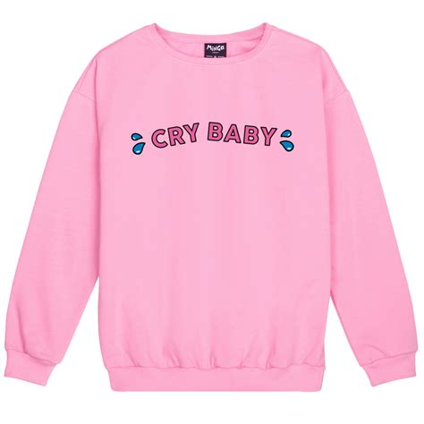 Sweater My Cry 1 Cry Baby Sweater Jumper Womens Swag