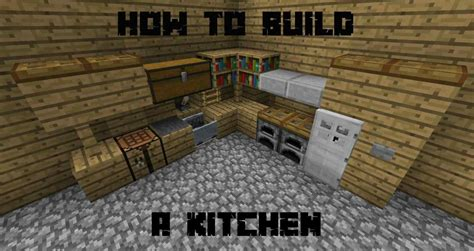 minecraft kitchen designs deductour com