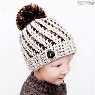 guest post flattering hats for every head already ravelry northern lights beanie pattern by northern knots