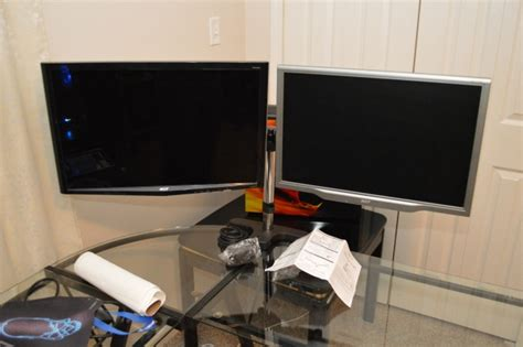 monitor arm glass desk arctic z2 pro dual monitor stand review phoronix