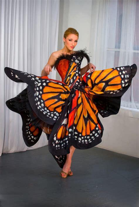 Mcqueen Butterfly Gown by Fierce Frum Butterfly Effect