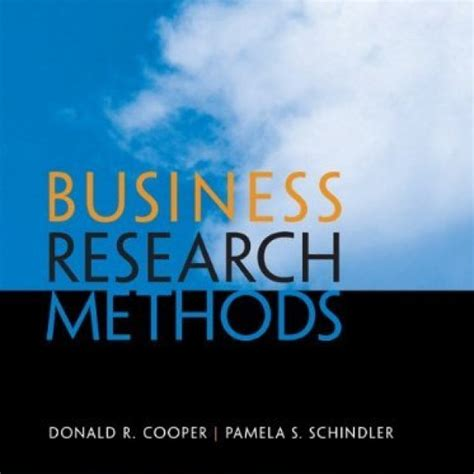 Research Methods For Business 7th Edition downloadable test bank for business research methods 12 e