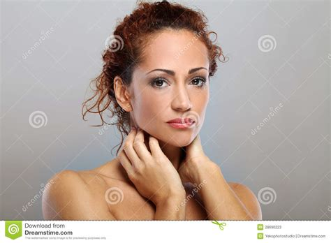 beautiful middle aged woman beautiful natural middle aged woman stock photos image