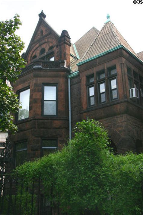 Coleman House by Brownstone Facade Of Joseph G Coleman House Chicago Il