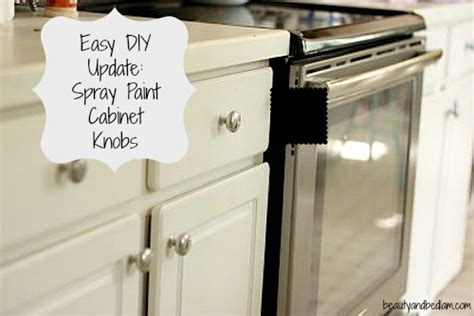 Painting Kitchen Cabinet Hardware | spray paint brass kitchen knobs spray paint kitchen