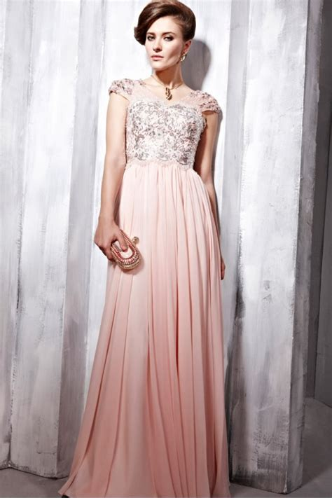 pale pink prom dress uk evening wear