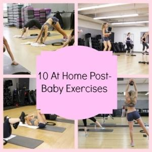 5 exercises you can do at home with your baby