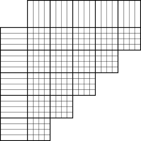 Printable Logic Puzzle Grid Blank | tlstyer com logic puzzle grids