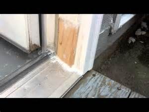 solution for rotten exterior door frame