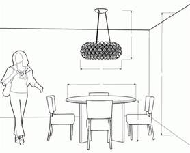 how high to hang a chandelier dining room chandelier ayanahouse how high to hang a