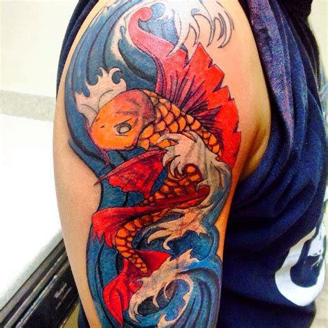koi fish tattoo cover up cover up koi fish tattoo my tatts pinterest