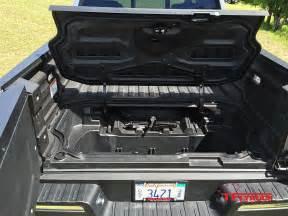 2017 honda ridgeline underbed storage compartment