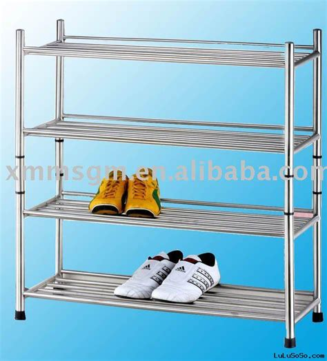 other uses for metal shoe rack new tubular metal chrome kitchen or dining table base for