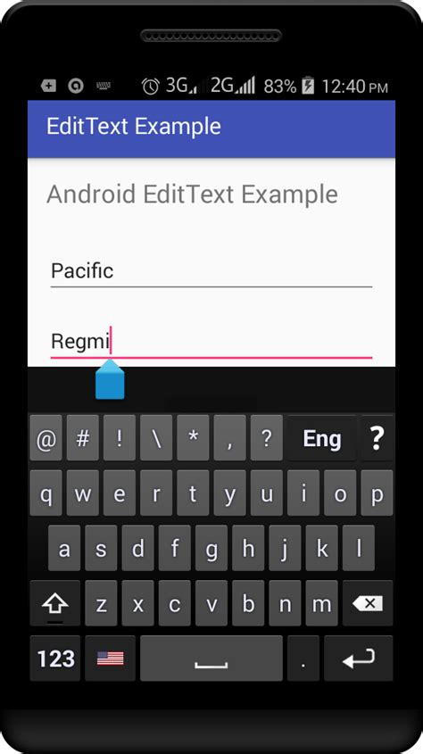 android edittext android edittext exle viral android tutorials exles ux ui design