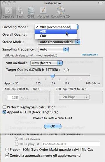 tutorial xld rippare e convertire formati audio con il mac grazie a xld