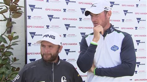 chris sullivan golf andy sullivan and chris wood two off pace at world cup of