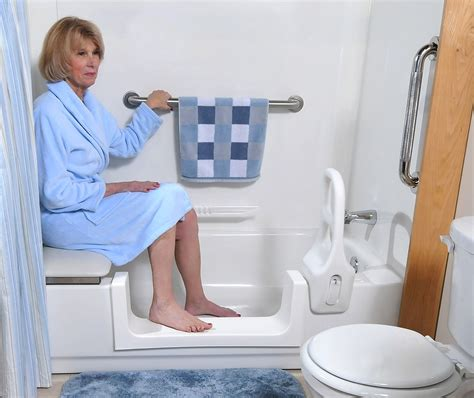 bathtub for seniors how modifications ensure bathroom safety for seniors