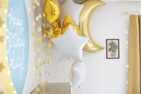 Moon and Stars Birthday Party ? A Beautiful Mess