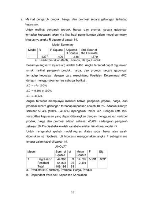 Path Analysis Dengan Spss analisis jalur path analysis