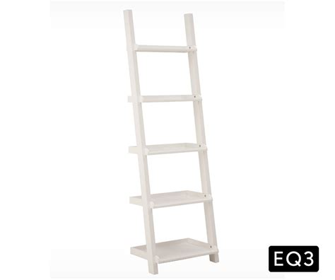 ladder shelf desk white asterix 3 ladder shelf and desk decorium furniture