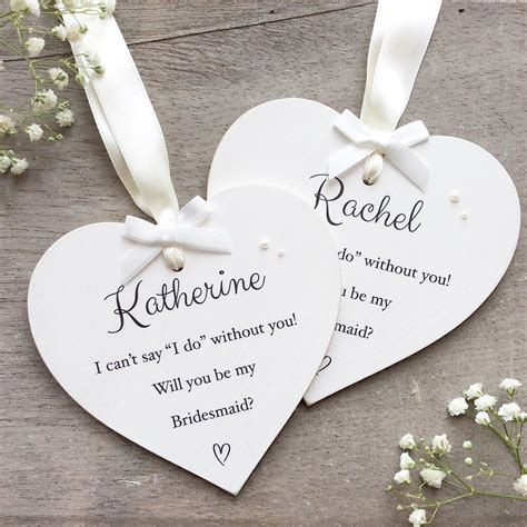 gifts uk personalised will you be my bridesmaid