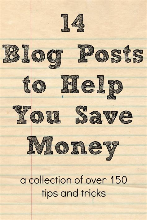 Best Blogs To Help You Save Money by 14 Posts To Help You Save Money The Nerds
