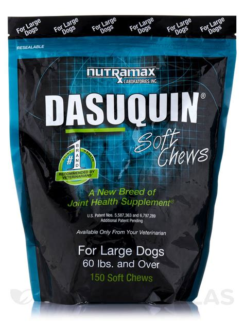 dasuquin for large dogs dasuquin 174 for large dogs 60 lb and 150 soft chews
